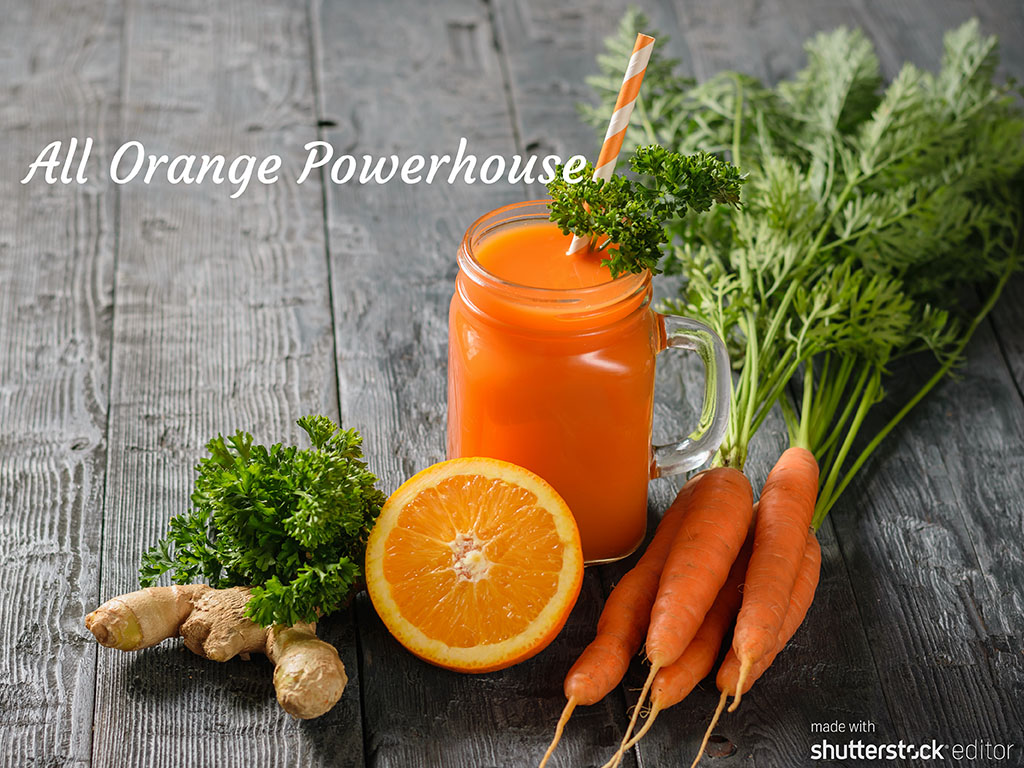 Orange Powerhouse Smoothie